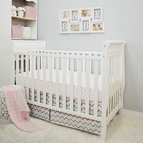 pink american baby bumper - 9