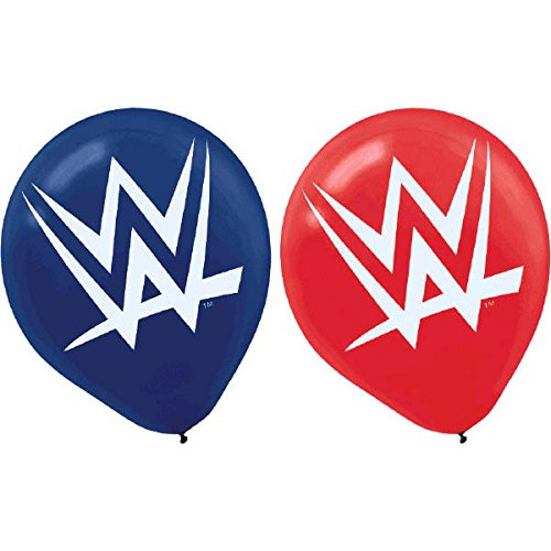 WWE Party Pack Banner Tablecloth Tattoos Balloons