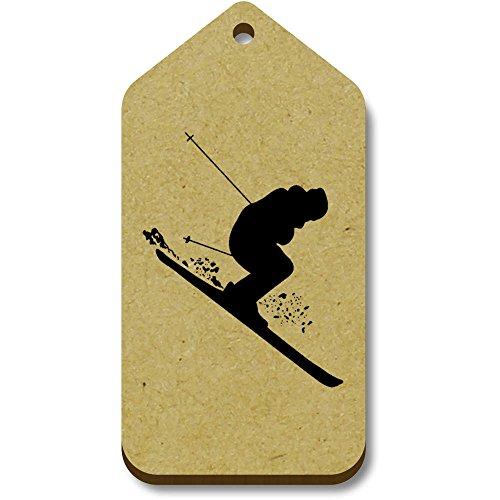 34mm Regalo tg00069919 Etiquetas 'esquiar' X equipaje 66mm 10 Azeeda Wg4HRH