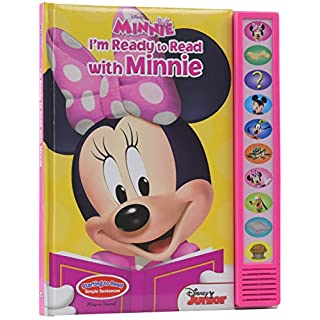 Disney Minnie Mouse - I'm Ready to Read with Minnie Sound Book - Great Alternative to Toys for Christmas - PI Kids (Play-A-Sound)