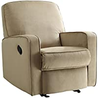 Pulaski Sutton Swivel Glider Recliner, Stella Straw