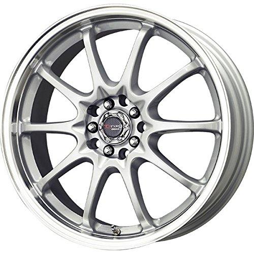 Drag Wheels DR-9 17x7/ 5x100/ 5x114.3 et40 Silver (Drag Dr 9 Black Wheel)