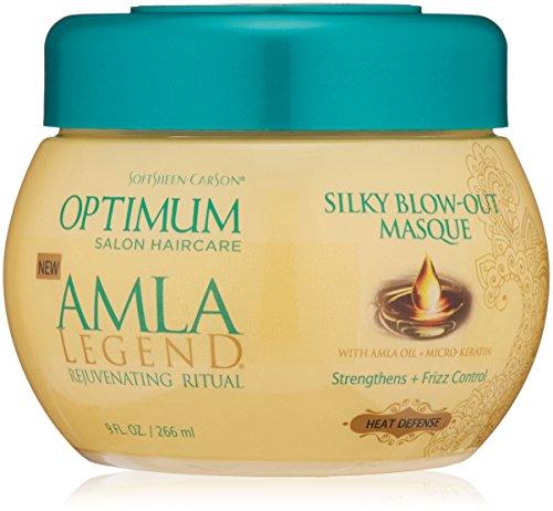 SoftSheen-Carson Optimum Salon Haircare Amla Legend Silky Blow-Out Masque, 9 oz