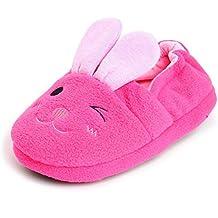 Enteer Baby Girls' Rabbit Slipper