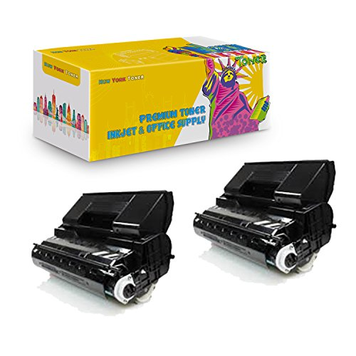 New York TonerTM New Okidata 2 Pack Okidata B710 High Yield Toner for OKI : B710 | B720 | B730. --Black