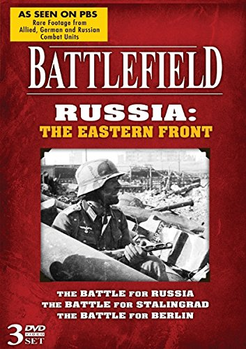 Battlefield Dvd - Battlefield Russia: The Eastern Front! 3 DVD Set!