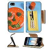 MSD Premium Apple iPhone 5 iPhone 5S Flip Pu Leather Wallet Case Healthy...