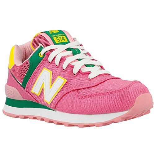 2014 Damen Pink Rosa New Balance Sneaker Neuheit WL574PAH 67nxxfRAt