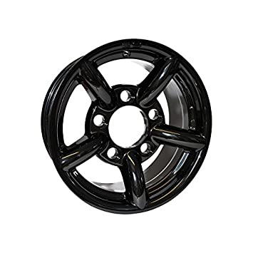 Llanta Alu negro brillante Deport 11 mm 16 x 7 negra Defender zu Rims para Land Rover - da2436: Amazon.es: Coche y moto