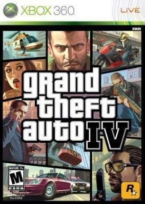 Grand Theft Auto Iv Xbox 360 Game - X360 GRAND THEFT AUTO IV GTA [Xbox 360] by two