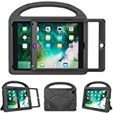 eTopxizu Kids Case for iPad Mini 1 2 3 - Light Weight Shock Proof Handle Stand Cover Case with Built-in Screen Protector for iPad Mini 1/iPad Mini 2/iPad Mini 3 - Black