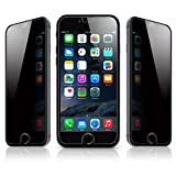 [2 Pack] Mcoolbo iPhone 5 SE Glass Privacy Anti-spy Tempered Glass Screen Protector Anti-peeping Screen Shield Guard for iPhone 5 SE (Privacy)