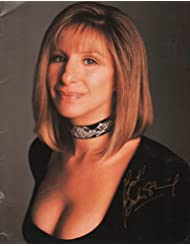 BARBRA STREISAND signed tour program