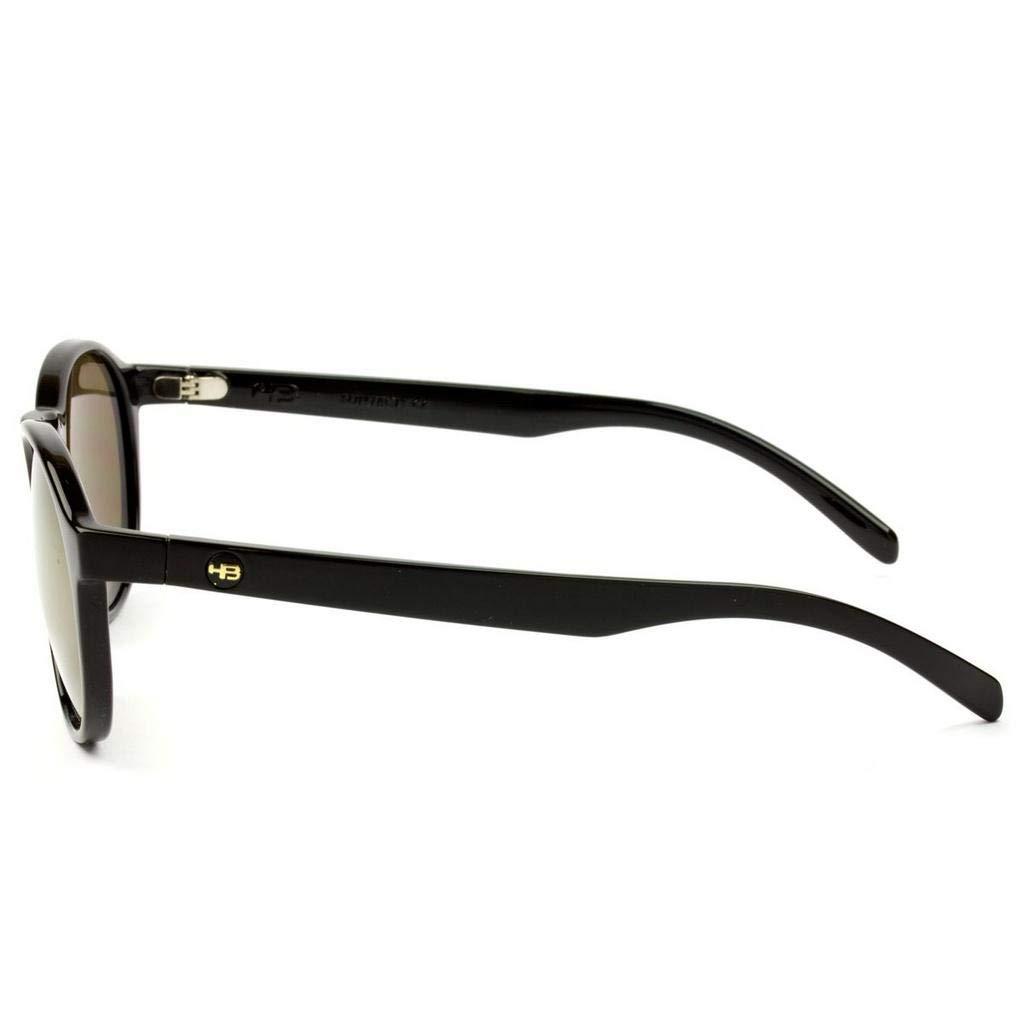 734f379364dfa Óculos de Sol Hb Gatsby 9010000202 53 Preto Brilhante  Amazon.com.br   Amazon Moda