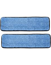 """18"""" Inch Microfiber Wet Mop Pads for Commercial and Industrial Microfiber Mops"""