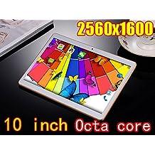 Fire Tablet 10 inch Octa Core White PC HD Display 2560X1600 IPS 4GB RAM 64GB ROM WiFi Bluetooth 3G Phone Call Dual sim card Wcdma+GSM PCS Android 5.1 electronics 7 9 10.1