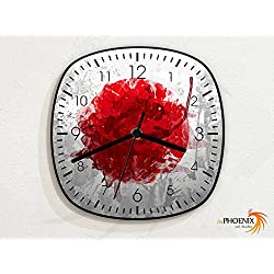 Japan - Flag - Wall Clock