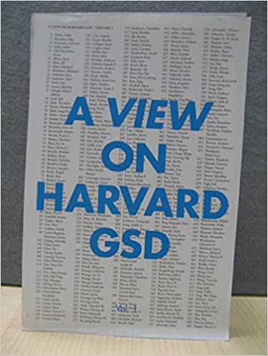 A view on harvard gsd harvard graduate school of design a view on harvard gsd harvard graduate school of design 9780955573279 amazon books reheart Image collections