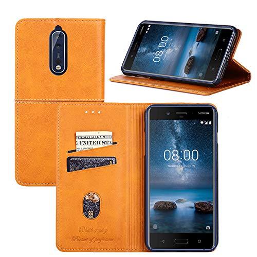promo code c1bcf 85876 Amazon.com: Nokia 8 Case,YEEGG Wallet Case for Nokia 8,PU Leather ...