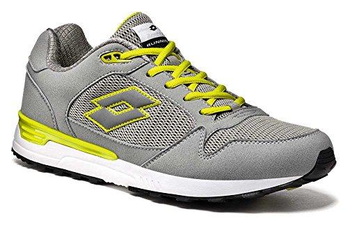 5 Giallo Lotto Grau Bianco Herren Sneaker Grigio 42 6wgCqC0aIn