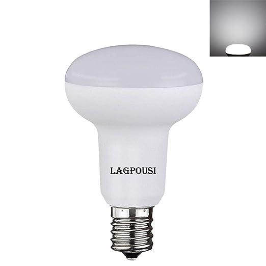 lagpousi 5 W E17 Base R16 R14 no regulable bombilla LED, mini Reflector Luz Bombilla, ...