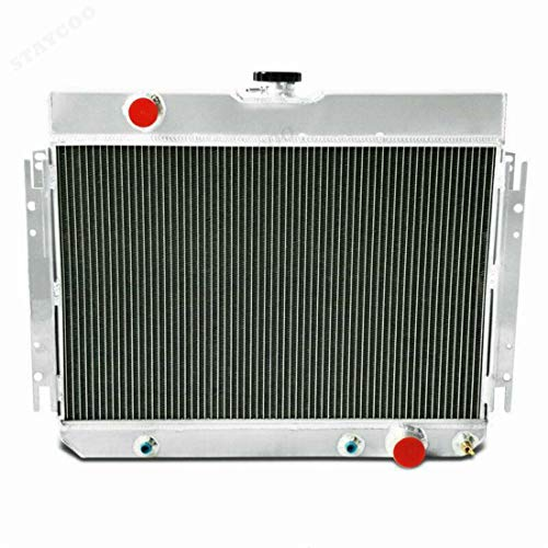 Primecooling 56MM 3 Row Core Aluminum Radiator for Impala Chevelle/Many Chevy GM Gars 1963-68