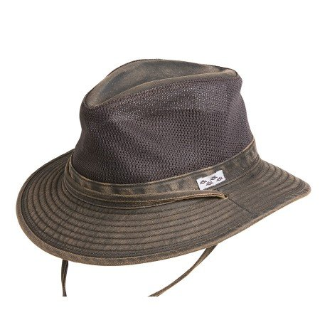 Conner Hats Men's Carolina Outdoor Summer Mesh Hat, Brown, XL from Conner Hats
