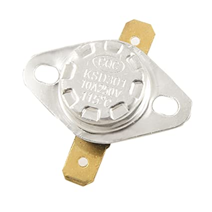 KSD301 50°C 122°F Degree Celsius N.O Temperature Switch Thermostat 10A  250V