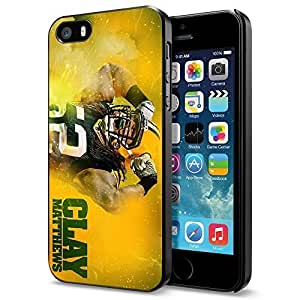 Zheng caseZheng caseNFL Green Bay Packers Aaron Rodgers Team, Cool iPhone 4/4s Smartphone Case Cover Collector iphone Black