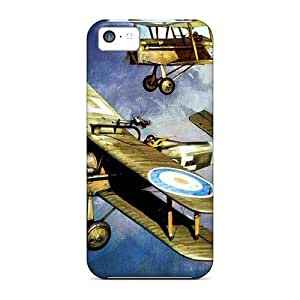 Lmf DIY phone casePremium Case With Scratch-resistant/ Aces High Case Cover For iphone 5cLmf DIY phone case