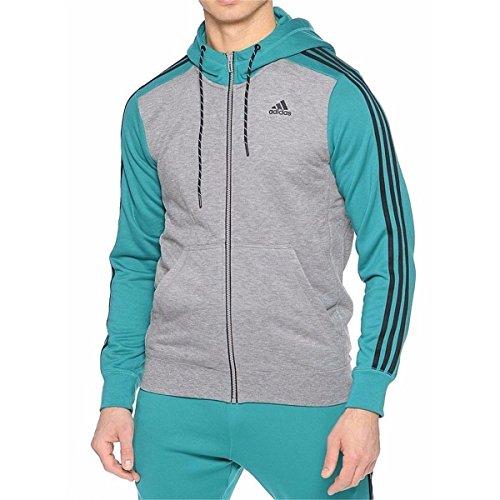 Adidas Men's Essentials Training Hoodie, Gray,M - US