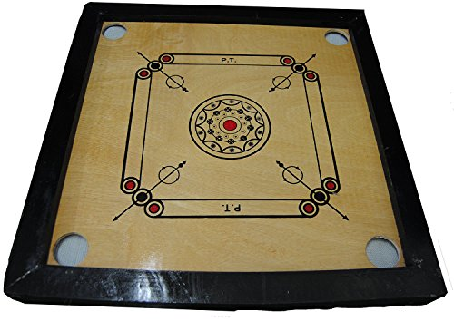 Indian-Wooden-Carrom-Board-Size-50-x-50cm-cosmetic-damage