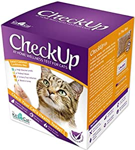 Coastline Global CheckUp Kit At Home Wellness Test for Cats, Urine Collection & Detection of Diabetes, Kidney Conditions, UTI, Blood in Urine