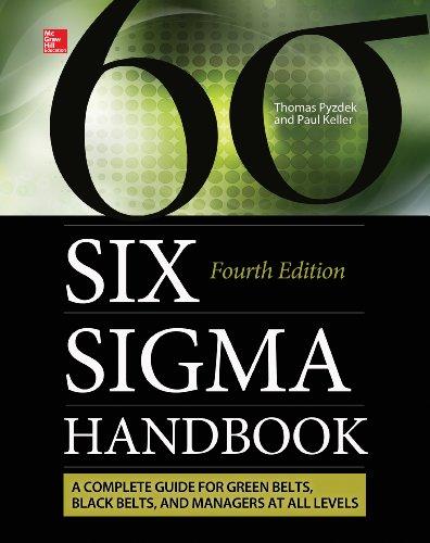 Download Six Sigma Handbook, Fourth Edition (ENHANCED EBOOK) Pdf