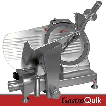 AUFSCHNITTMASCHINE   2   12MM (GastroQuik) Edelstahl Wurstschneider  Schneidemaschine