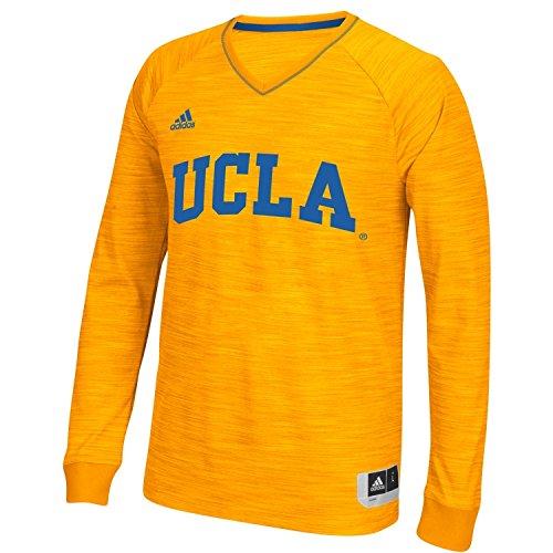 adidas UCLA Bruins Gold 2015/2016 On-Court Long Sleeve Player Shooter Shirt (XX-Large)