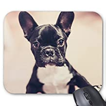 "Cute Puppy Portrait 9""x7"" Mouse Pad"