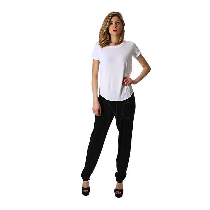 the latest fa4cf 9875c RAGNO Pantalone Tight Fit Elasticizzato Art.70444Q: Amazon ...