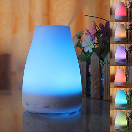 Multi-diffuser diffuser difussers Humidifier Humidifiers cooler vaporiser Ultrasonic plug-in fragrance lamp colorful smooth surface 100ML by Multi-diffuser