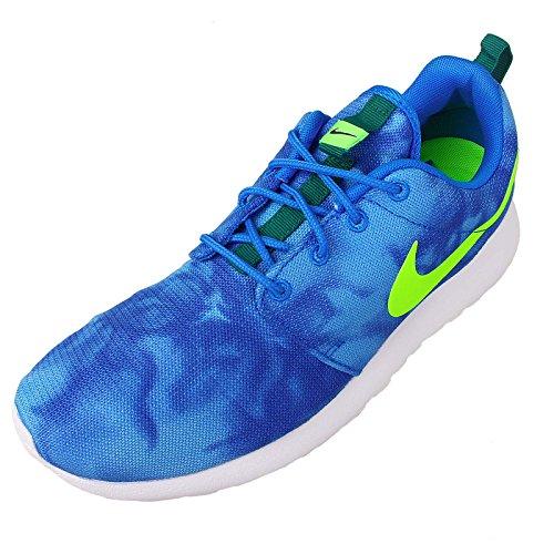 Nike Womens Air Zoom Structure 19 Scarpe Da Corsa Foto Blu / Verde Elettrico-verde Mistico