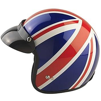 Leopard LEO-604 Open Face Motorcycle Motorbike Helmet Road Legal 53-54cm #06 Target XS