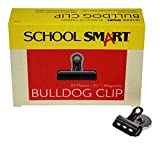 School Smart Nickel Plated Steel Magnetic Clip, 1-1/4'' L (Pack of 24)