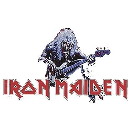 Amazon Sticker Iron Maiden
