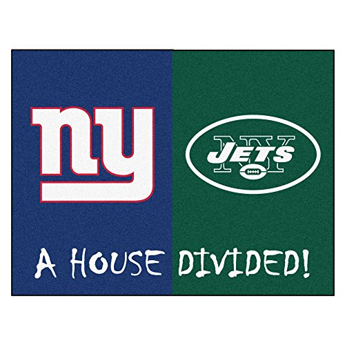 FANMATS NFL House Divided Nylon Face House Divided Rug ()