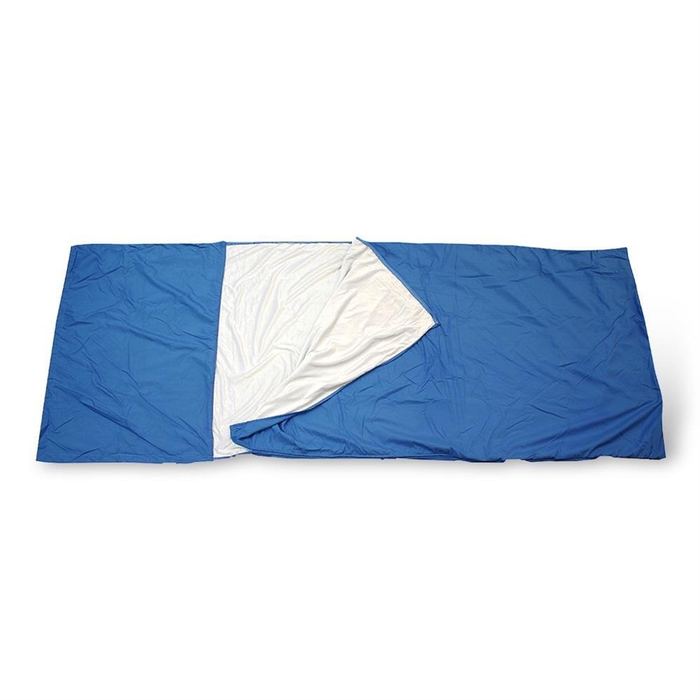 HC de Comercio 936084 Viaje Saco de dormir con interior de peluche 85 x 220 cm Azul - para una higiene sensación Segura En Viajes: Amazon.es: Deportes y ...
