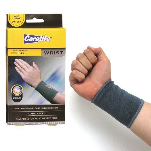 Wrist Brace Elastic Support Band Hand Forearm Sleeve Arthritis Tennis Gym New ! by ATB ()