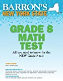 Barron's New York State Grade 8 Math Test, 3rd Edition, Anne M. Szczesny, 0764146238
