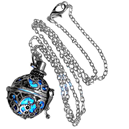 Steampunk FIRE necklace - pendant charm locket jewelry- GREAT GIFT-silver (Cool Steampunk Costumes)