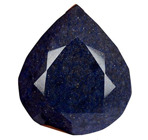 (AAA++ Grade Natural Rare Blue Sapphire 703.00 Ct. Huge Size Egl Certified Pear Cut Blue Sapphire Gemstone AS-263)