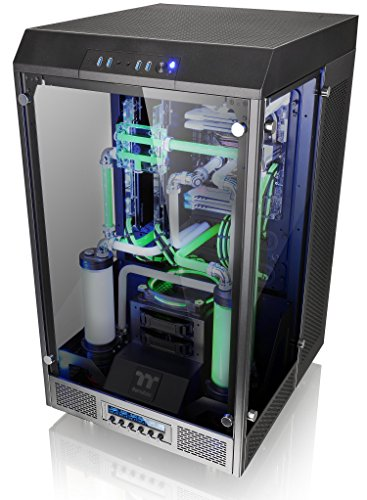 Thermaltake Tower 900 Black Edition Tempered Glass Fully Modular E-ATX Vertical Super Tower Computer Chassis CA-1H1-00F1WN-00 by Thermaltake (Image #7)